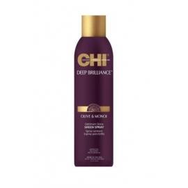 CHI Deep Brilliance purškiamas plaukų blizgesys su alyvuogių ir Monoi aliejais