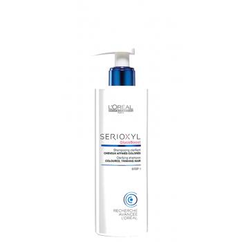 Šampūnas dažytiems plaukams L'oreal Serioxyl Clarifying Shampoo Coloured Thinning Hair 250 ml