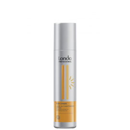 Nenuplaunamas kondicionierius, puoselėjantis saulėje pažeistus plaukus Londa Sun Spark Leave-In Conditioning 250 ml