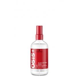 Schwarzkopf Osis+ Blow Go Thick Spray apimties suteikiantis džiovinimo purškiklis