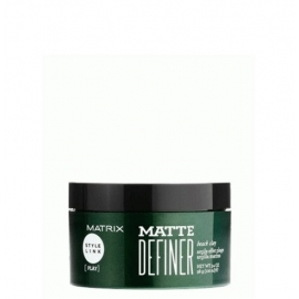 Matrix Style Link Matte Definer matinė plaukų formavimo pasta (4)