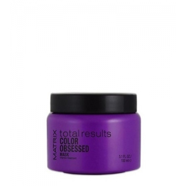Plaukų spalvą apsauganti kaukė Matrix Total Results Color Obsessed Intense Treatment 150 ml