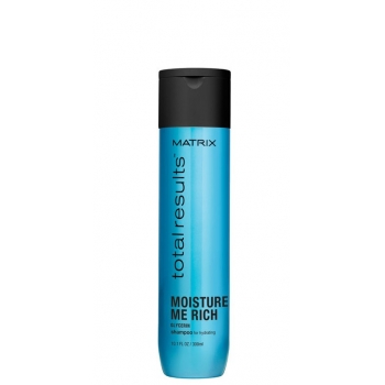Plaukus drėkinantis šampūnas Matrix Total Results Moisture Me Rich shampoo 300 ml
