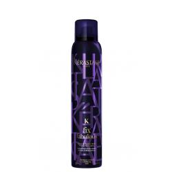 Kerastase Fix Fabulous Precise Fixing Spray ypač stiprus plaukų lakas besivelentiems plaukams