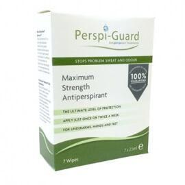 Perspi-Guard Antiperspirant Wipes (drėgnos servetėlės apsaugai nuo prakaitavimo)