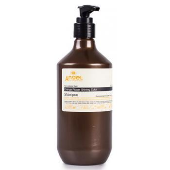 Šampūnas dažytiems plaukams Angel Orange Flower Shining Color Shampoo For colored hair