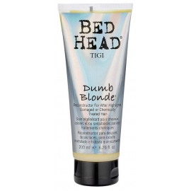 Chemiškai apdorotus plaukus atkuriantis balzamas TIGI Dumb Blonde Reconstructor For Chemically Treated Hair 200 ml