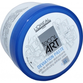 Stiprios fiksacijos plaukų pasta L'oreal Tec ni Art Deviation Paste Deconstructing Definition paste 100 ml
