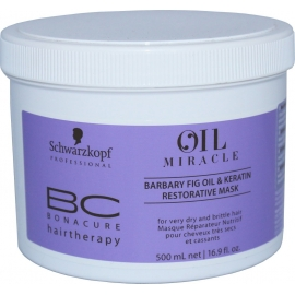 Atstatomoji kaukė Schwarzkopf BC Oil Miracle Barbary Fig Oil Keratin Restorative Mask 500 ml