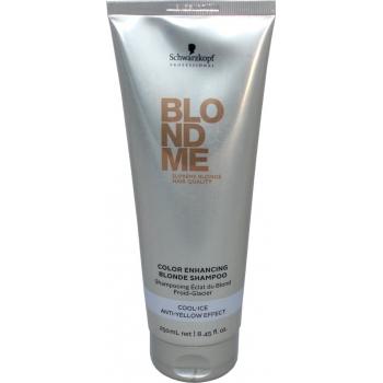 Šampūnas neutralizuojantis geltonus atspalvius Schwarzkopf Blond Me Color Enhancing Blonde Shampoo 250 ml
