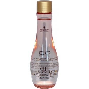 Rožių aliejus plaukams ir galvos odai Schwarzkopf BC Oil Miracle Rose Oil Hair Scalp Treatment 100 ml