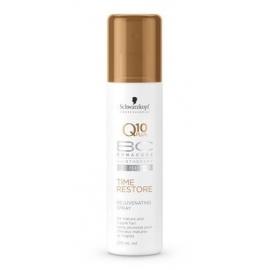 Atjauninanti plaukus purškiama priemonė Schwarzkopf Bonacure Q10 plus Time Restore Rejuvenating Spray 200 ml