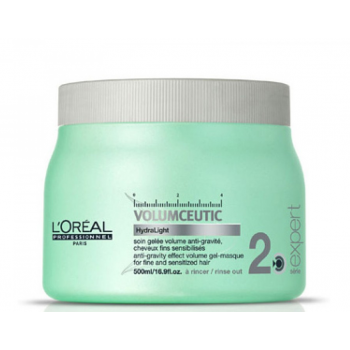 Kaukė ploniems plaukams L'Oreal Professionnel Volumceutic (2) Gel-Masque 500ml