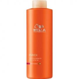 Šampūnas suteikiantis apimties ploniems ir normaliems plaukams Wella Enrich Fine 500 ml