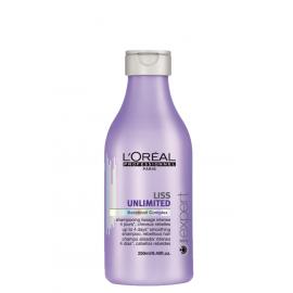 L'Oreal Liss Unlimited Keratinoil Complex Shampoo šampūnas nepaklusniems plaukams