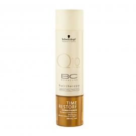 Schwarzkopf Bonacure Hairtherapy Time Restore Q10 atkuriamasis kondicionierius plaukams su Q10