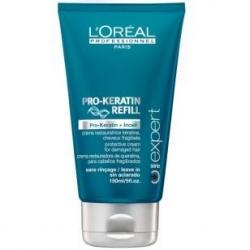 L'Oreal Professionnel Expert Serie Pro-Keratin Refill Blow-Drying Cream kremas pažeistiems plaukams