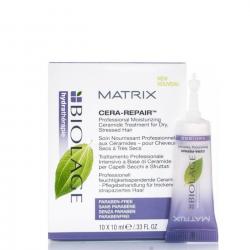 MATRIX Biolage Hydratherapie Cera Repair drėkinamoji priemonė plaukams (ampulėse)