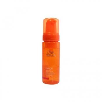 Maitinančios putos garbanotiems plaukams Wella Enrich Bouncy Foam 150 ml