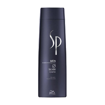 Šampūnas žiliems plaukams Wella SP Men Silver Shampoo 250 ml