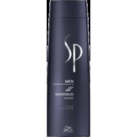 Wella SP Men Maxximum Shampoo Šampūnas vyrams nuo plaukų slinkimo