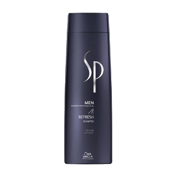 Šampūnas gaivinantis galvos odą Wella SP Men Refresh Shampoo 250 ml