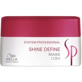 Kaukė suteikianti plaukams blizgesio Wella SP Shine Define Mask 200 ml