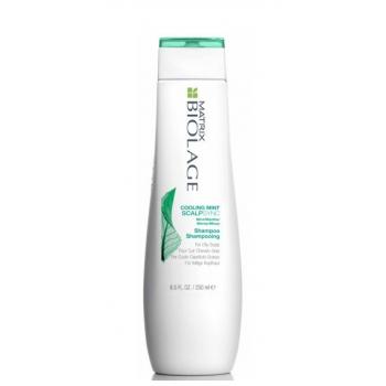 Šampūnas linkusiems riebaluotis plaukams MATRIX Biolage ScalpSync Cooling Mint Shampoo 250ml