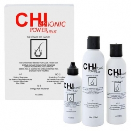 CHI 44 IONIC POWER rinkinys nuo plaukų slinkimo normaliems ir silpniems plaukams
