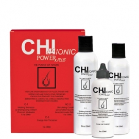 CHI 44 IONIC POWER rinkinys nuo slinkimo sausiems, dažytiems plaukams