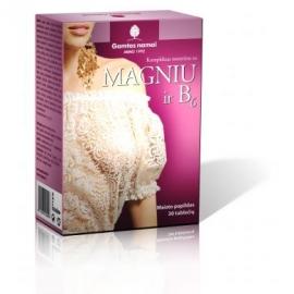 GAMTOS NAMAI KOMPLEKSAS MOTERIMS (Magnis ir vitaminas B6)