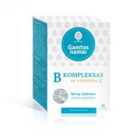GAMTOS NAMAI B kompleksas su vitaminu C