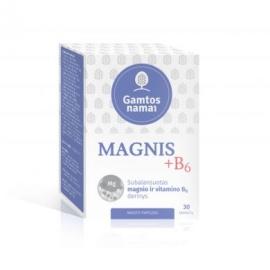 GAMTOS NAMAI MAGNIS ir vitaminas B6