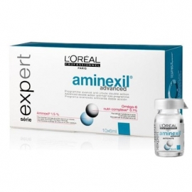 L'OREAL PROFESSIONNEL AMINEXIL roll-on ampulės nuo plaukų slinkimo