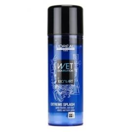 L'oreal Tecni Art Extreme Splash želė drėgnų plaukų efektui