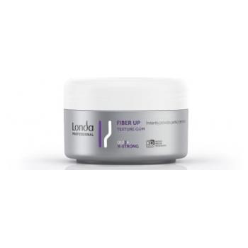 Londa Fiber Up Texture Gum ypač stiprios fiksacijos elastinė modeliavimo guma plaukams 75 ml