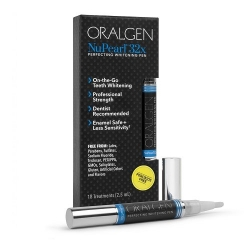 ORALGEN NuPearl balinamasis dantų pieštukas be peroksido