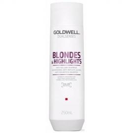 Goldwell Dualsenses Blondes & Highlights Šampūnas apsaugantis plaukus nuo pageltimo