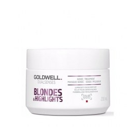 Goldwell Dualsenses Blondes And Highlights intensyvi 60 sek. kaukė šviesiems plaukams