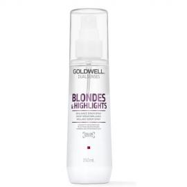Goldwell Dualsenses Blondes and Highlights Purškiamas dvifazis serumas šviesintiems plaukams