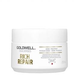 Goldwell Dualsenses Rich Repair 60 sek. intensyviai atstatanti kaukė plaukams