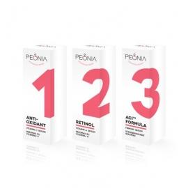 PEONIA odą jauninančių serumų rinkinys