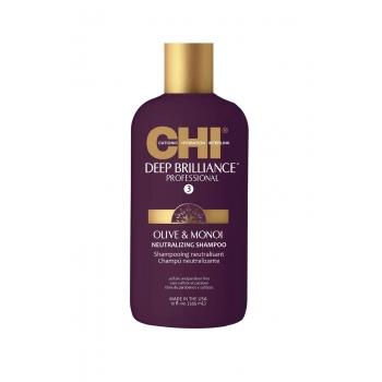 CHI Deep Brilliance drėkinamasis šampūnas su alyvuogių ir Monoi aliejais
