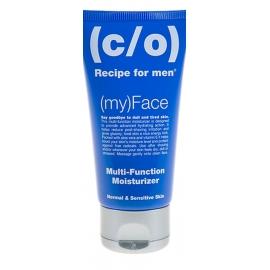 C/O Recipe for men intensyviai drėkinantis veido kremas normaliai ir jautriai odai