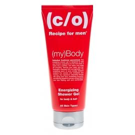 C/O Recipe for men energijos suteikiantis šampūnas ir prausiklis 2in1