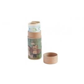 Jack N'Jill KELIONINIS krepšelis iš natūralios medvilnės