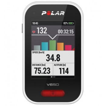 POLAR V650 sportinis laikrodis dviračiui