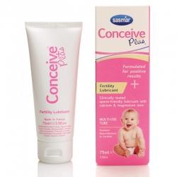 Conceive Plus vaisingumo lubrikantas tubelėje (padeda išlaikyti spermatoziodų gyvybingumą)