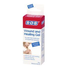 SOS gelis paviršinėms žaizdoms gydyti
