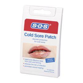 SOS pleistras nuo lūpų pūslelinės (herpes)